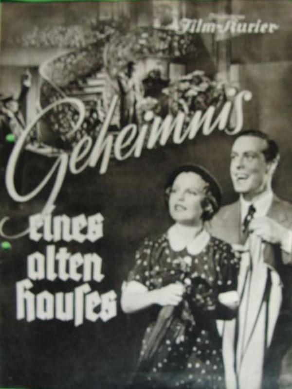 geheimnis eines alten hauses film 1936. Black Bedroom Furniture Sets. Home Design Ideas