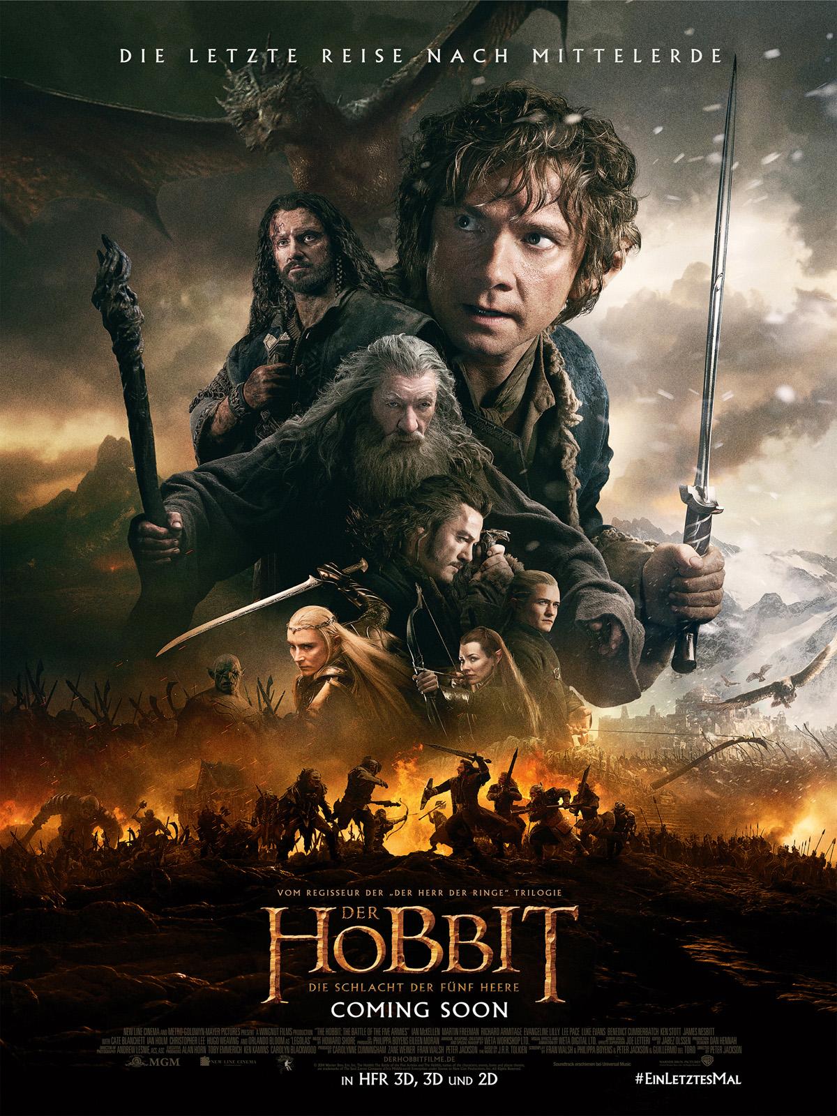 der hobbit: die schlacht der fГјnf heere besetzung
