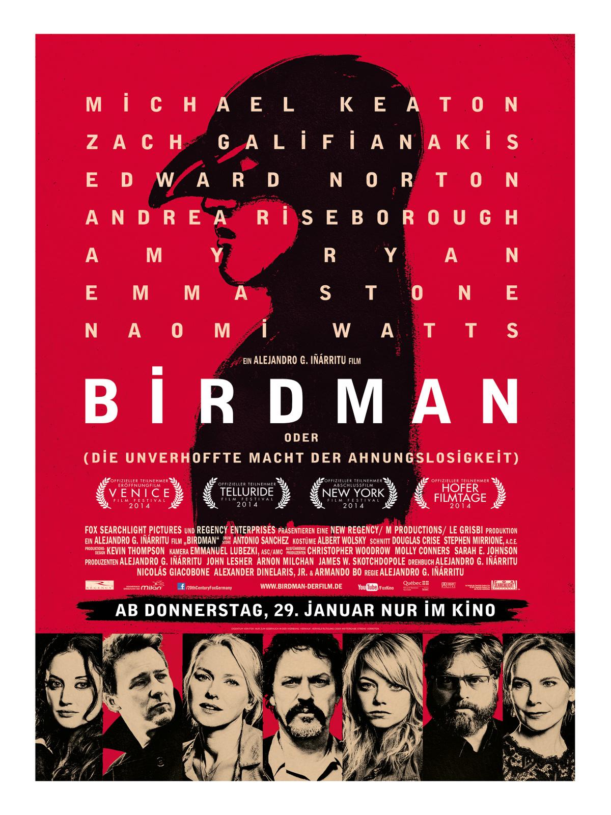 Birdman Oder Die Unverhoffte Macht Der Ahnungslosigkeit Trailer