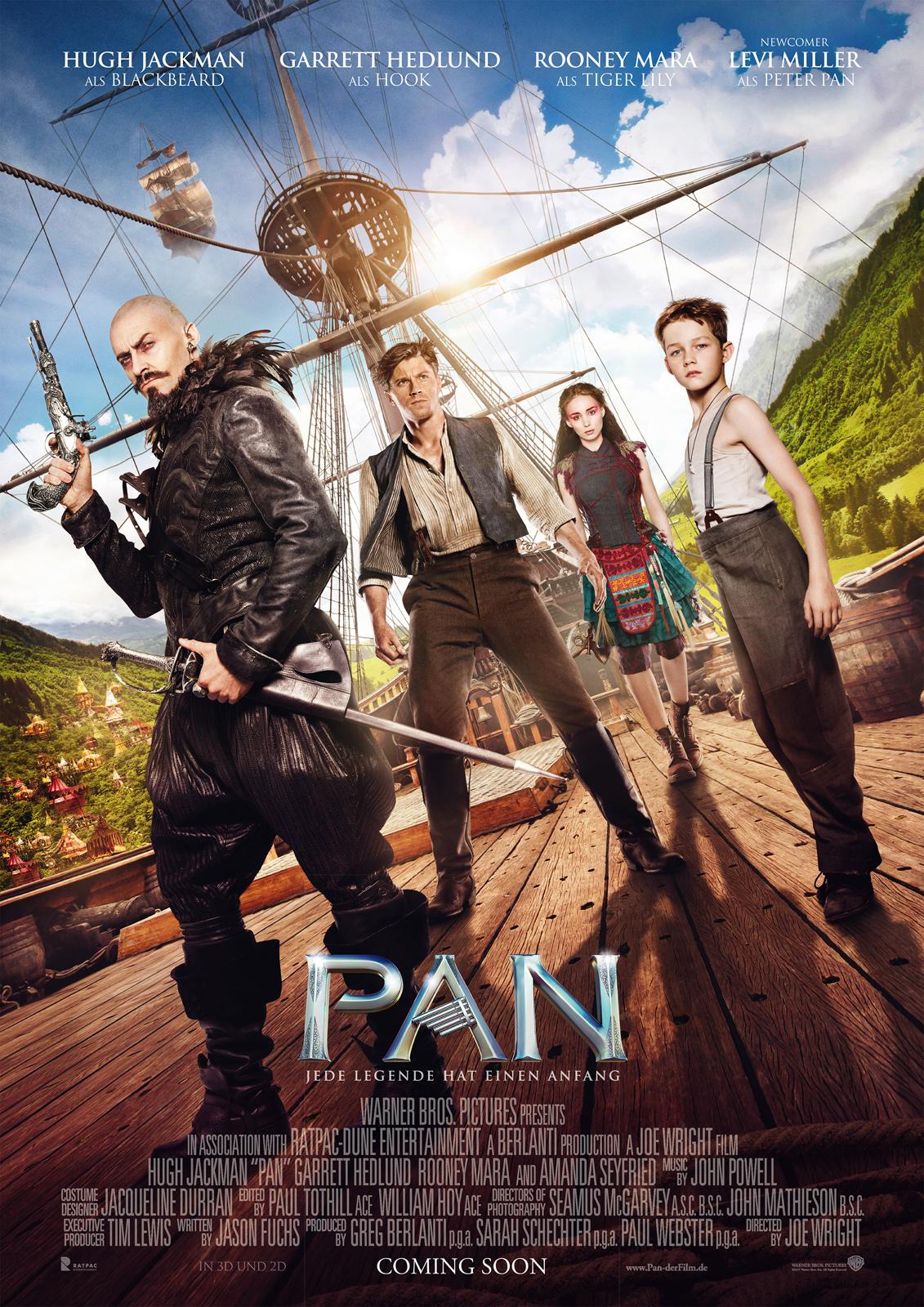 Pan - Film 2015 - FILMSTARTS.de  Pan - Film 2015...