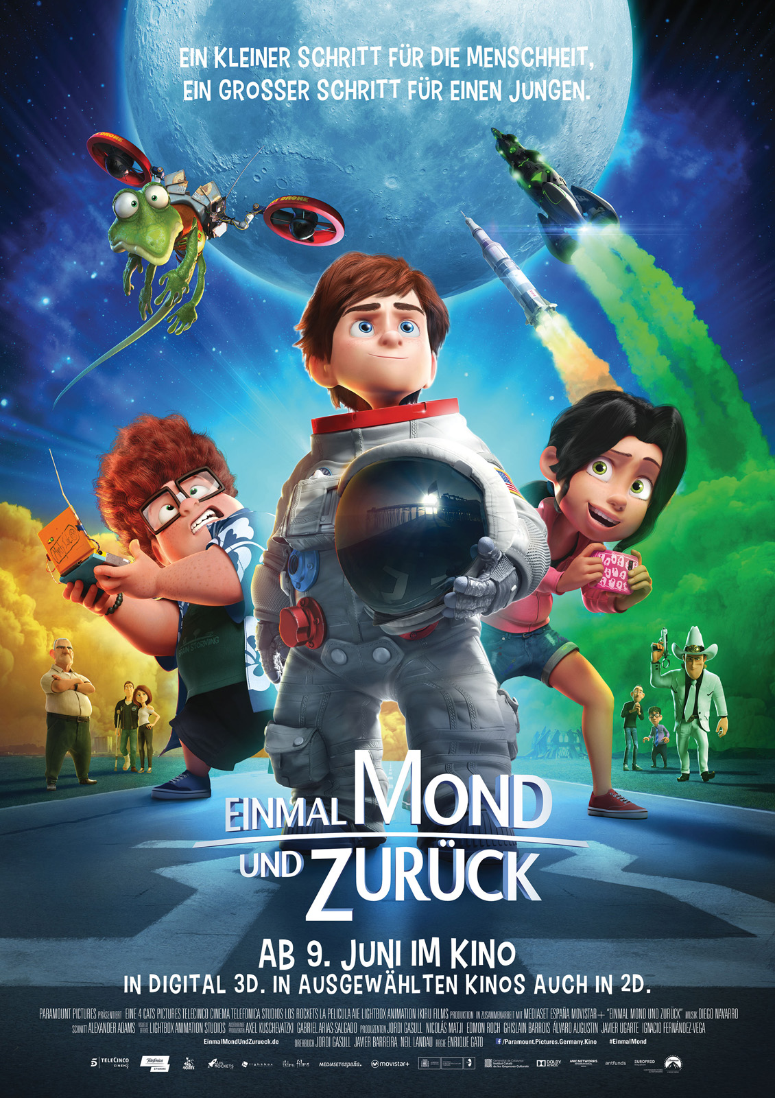 Einmal Mond Und Zurück Film 2015 Filmstartsde