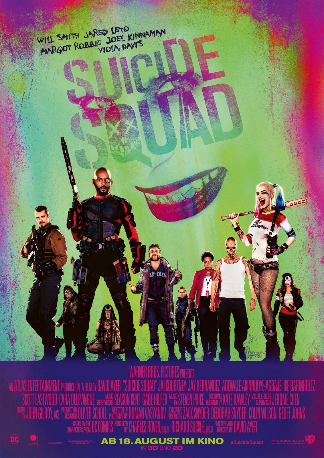 Suicid Squad Besetzung