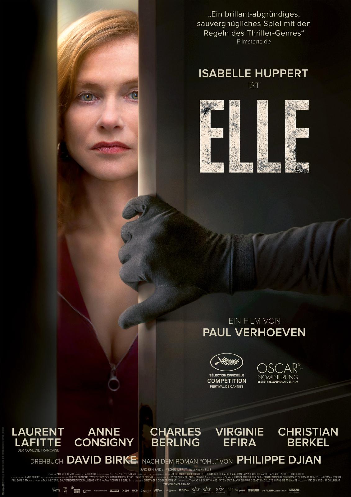 Elle - Die Filmstarts-Kritik auf FILMSTARTS.de