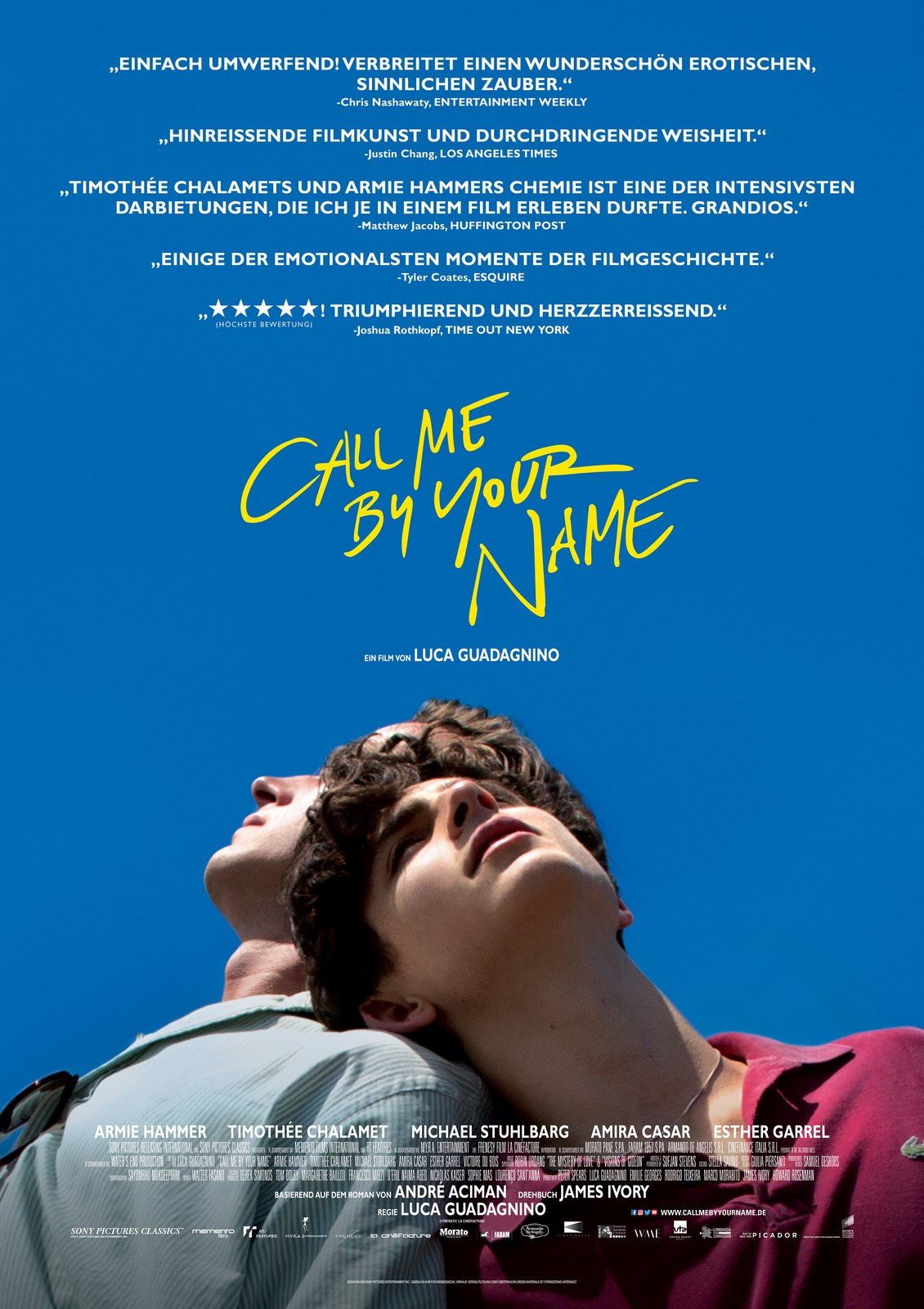 Call Me By Your Name - Film 2017 - FILMSTARTS.de
