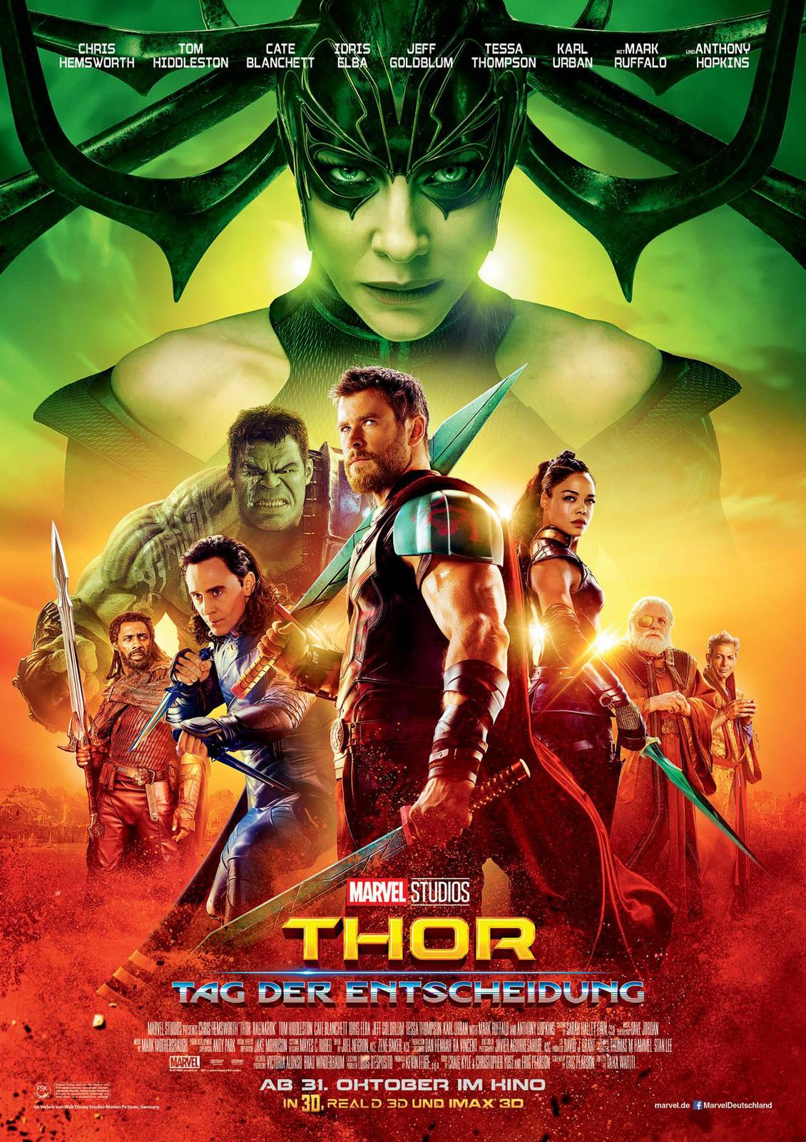 Thor 3 Tag Der Entscheidung Film 2017 Filmstartsde