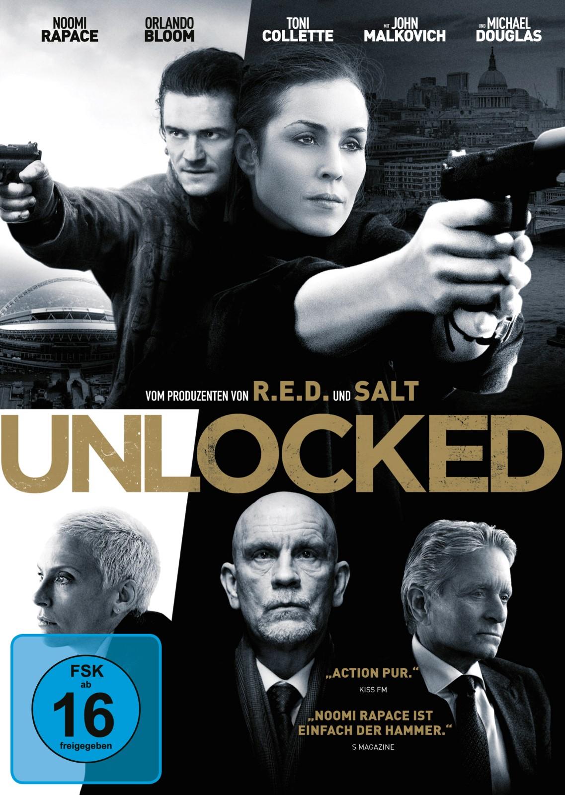 Unlocked Trailer Deutsch