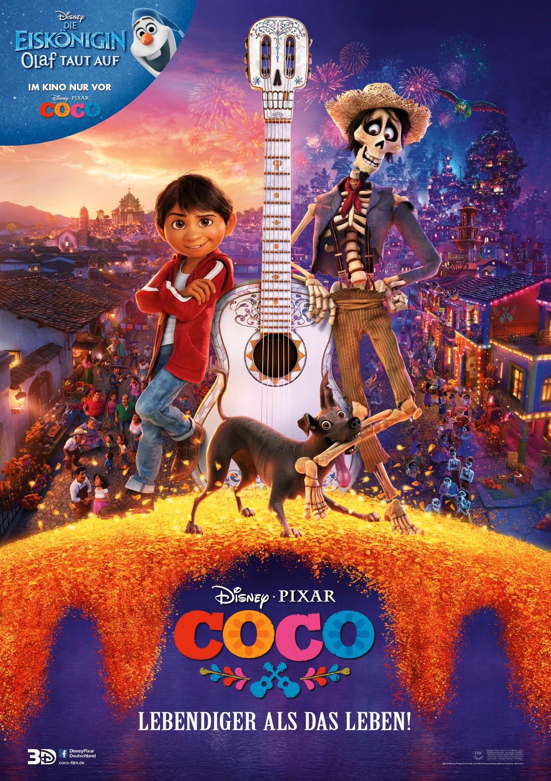 Coco - Lebendiger als das Leben! - Film 2017 - FILMSTARTS.de