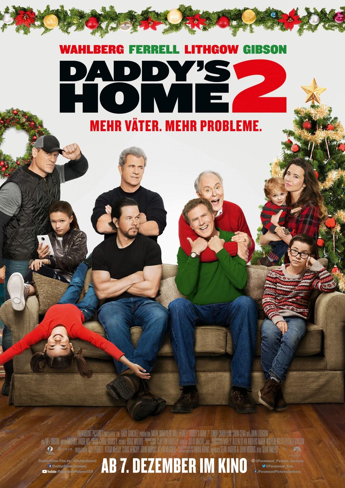 Daddy'S Home 2 – Mehr Väter, Mehr Probleme! Besetzung