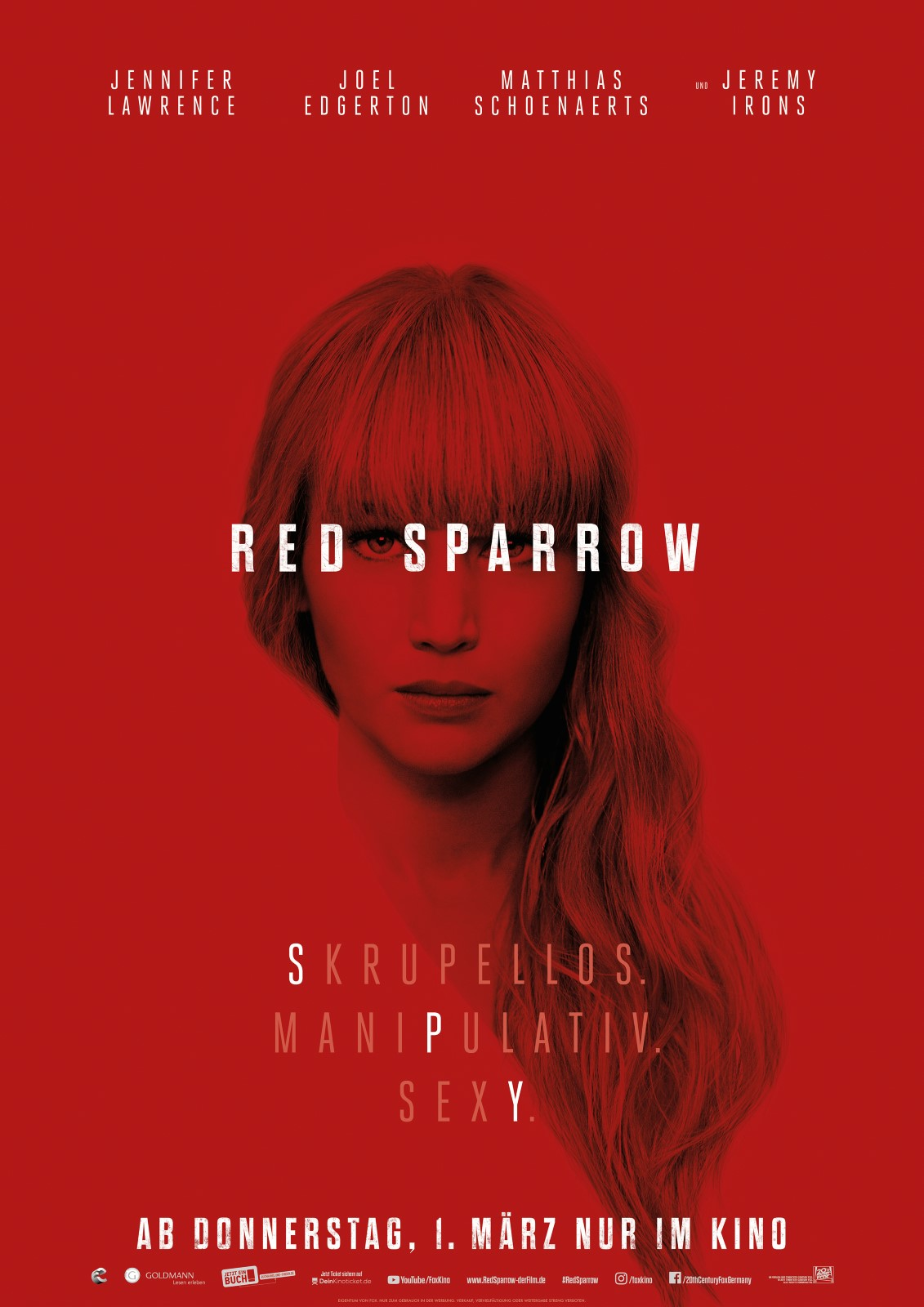Red Sparrow Fsk