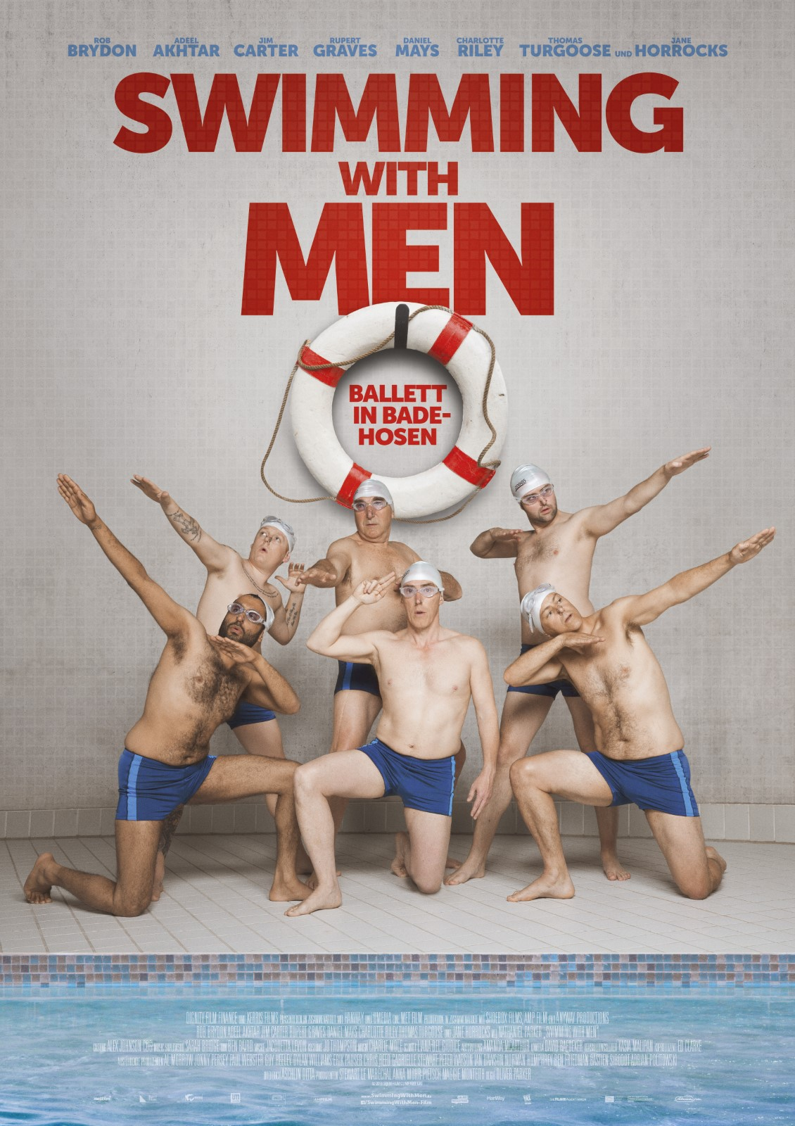 Swimming With Men (2018) film auf deutsch stream german online