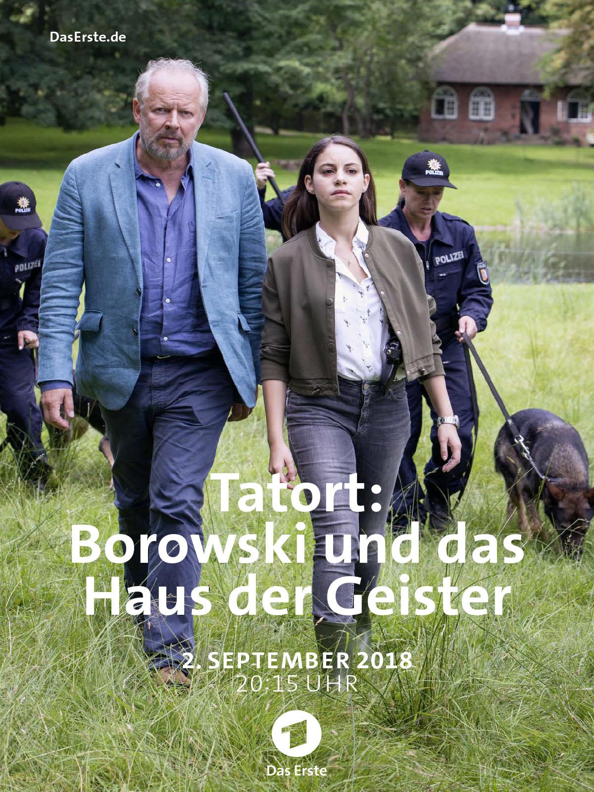 borowski und das haus der geister