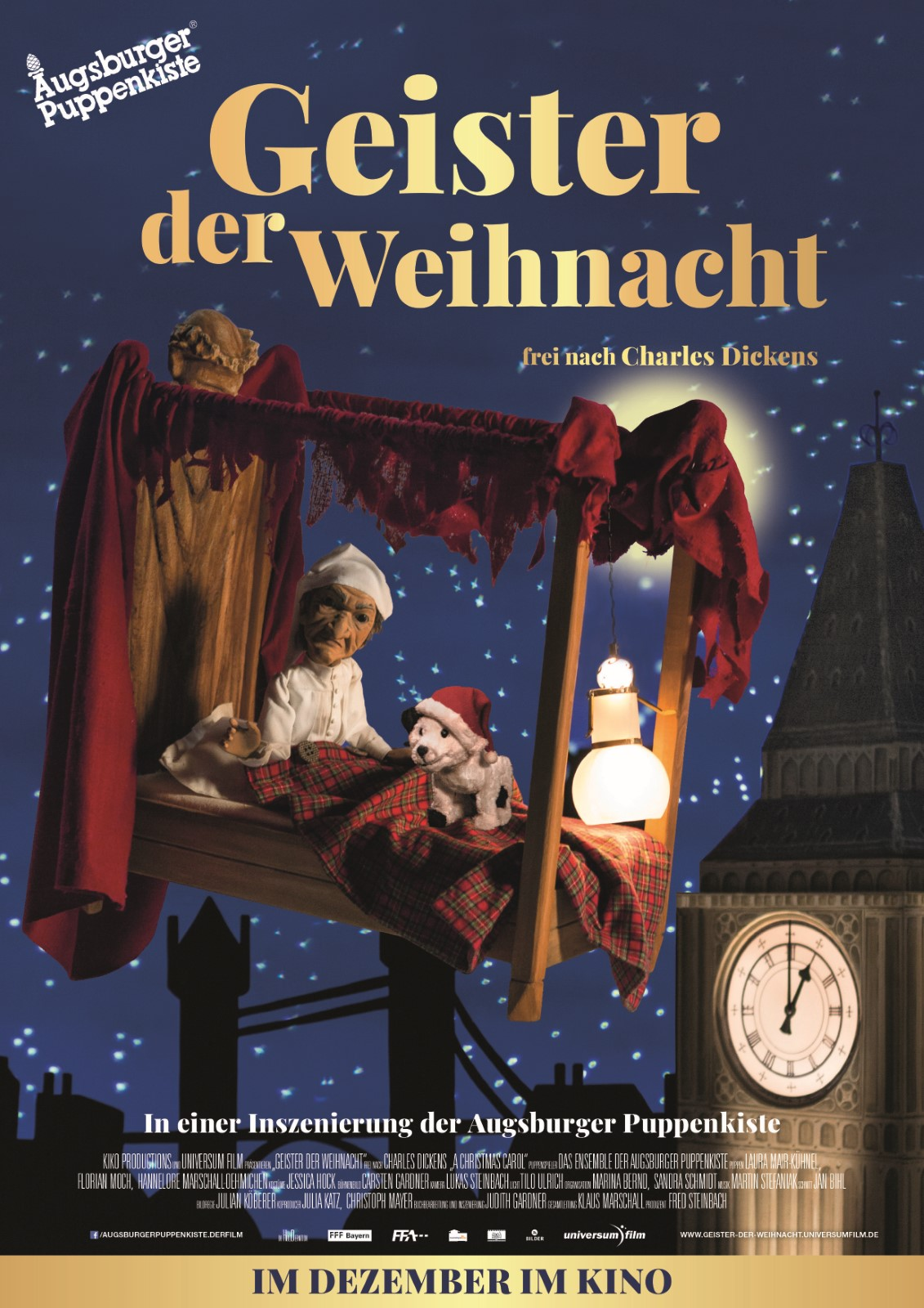 Geister der Weihnacht - Augsburger Puppenkiste - Film 2018 ...  Geister der Wei...
