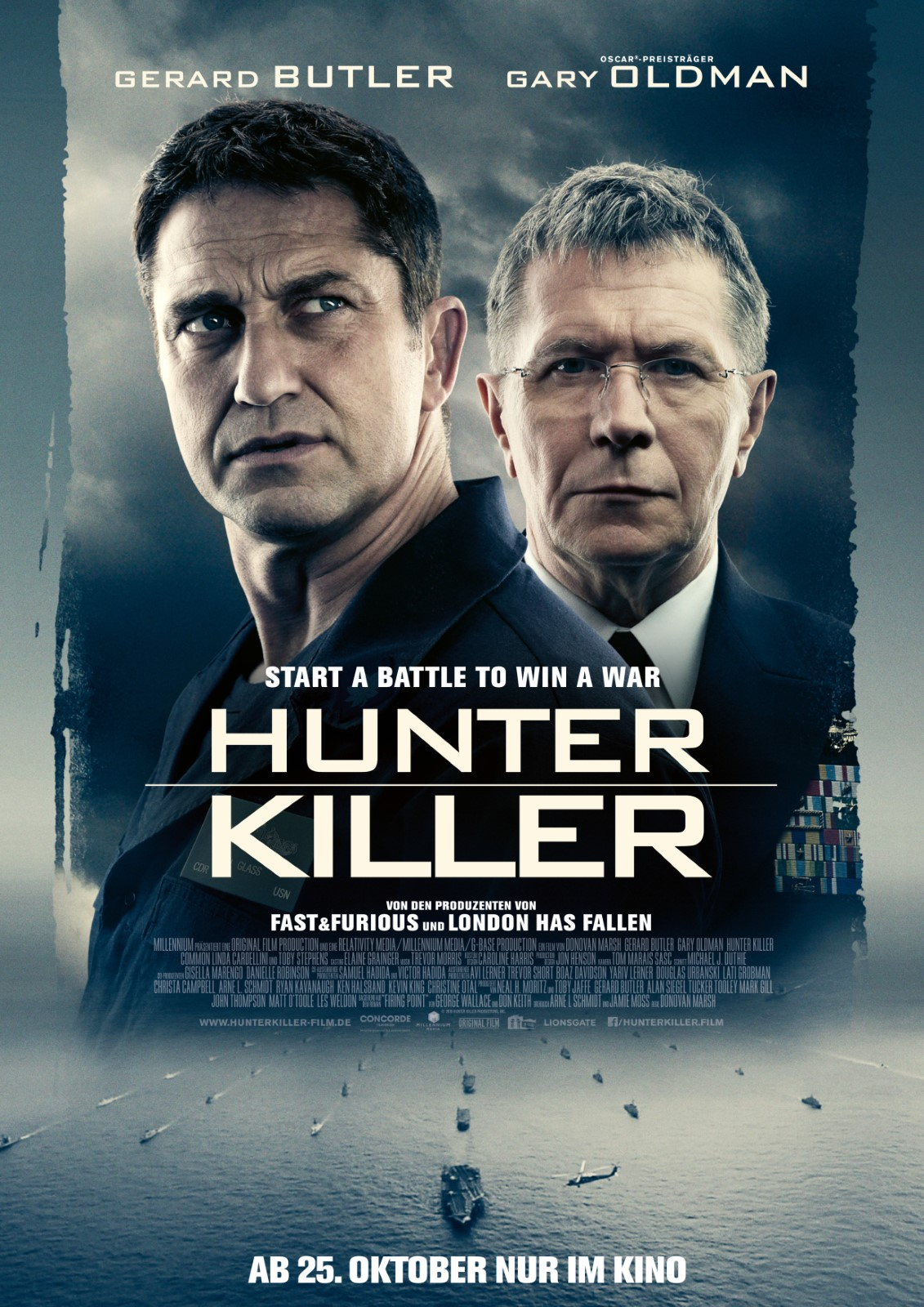 hunter killer deutsch