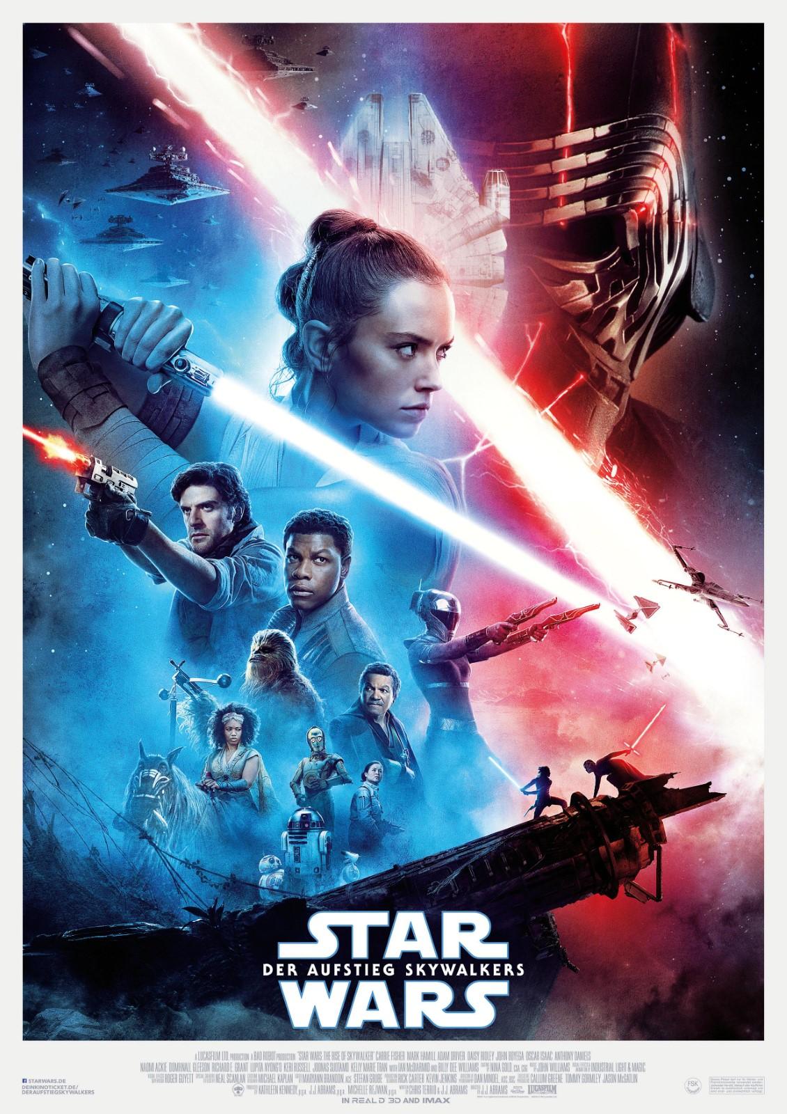 Filme Zu Weihnachten 2019.Star Wars 9 Der Aufstieg Skywalkers Film 2019 Filmstarts De