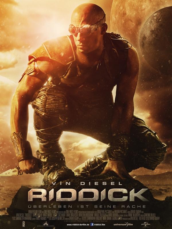 Riddick überleben Ist Seine Rache Schauspieler