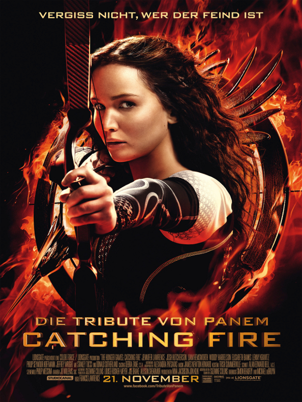 Die tribute von panem 2 catching fire film 2013 for Die tribute von panem 2