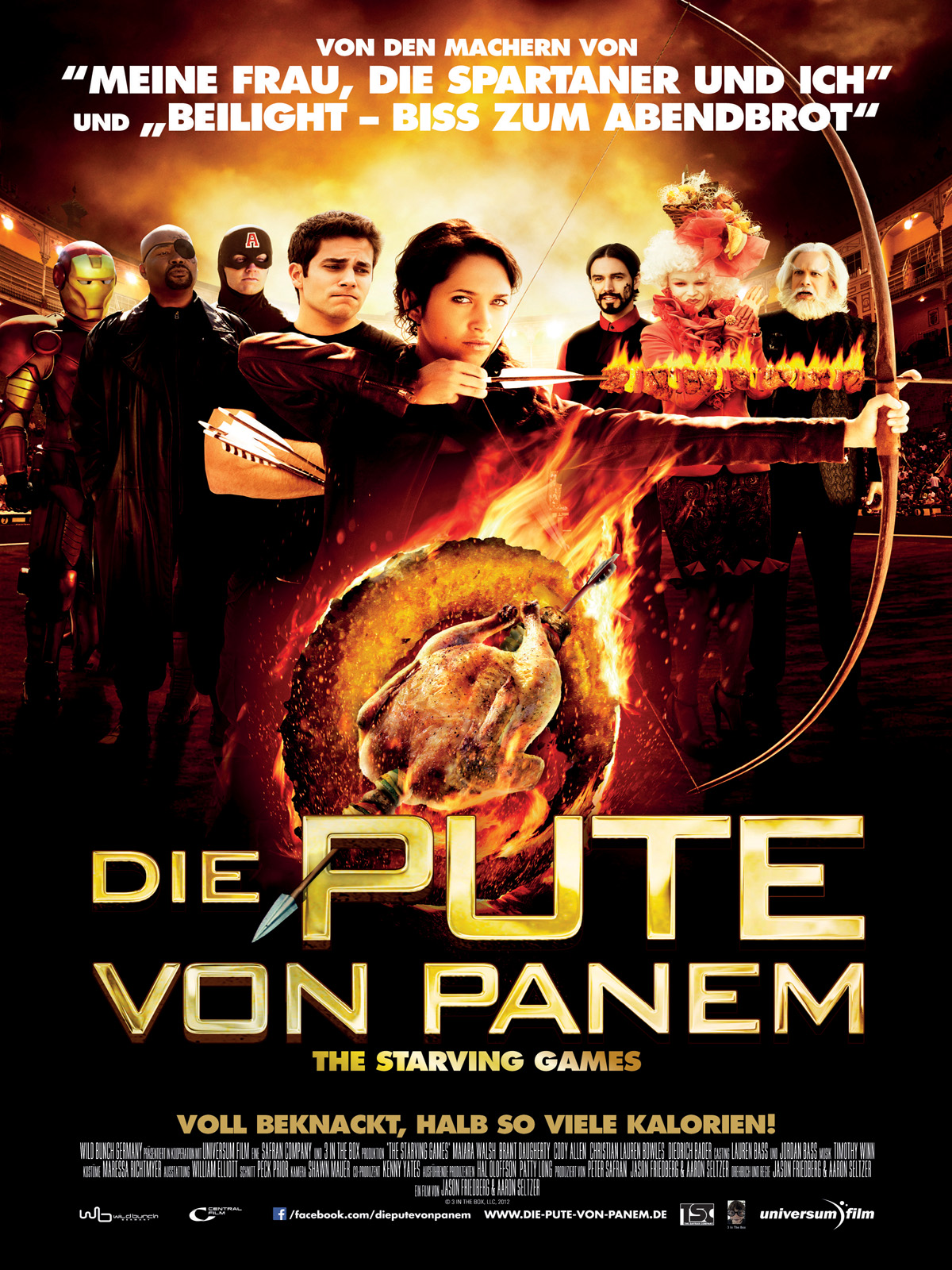 Die pute von panem the starving games film 2013 for Die tribute von panem film