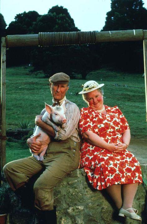 Schweinchen Babe in der großen Stadt : Bild James Cromwell, Magda Szubanski