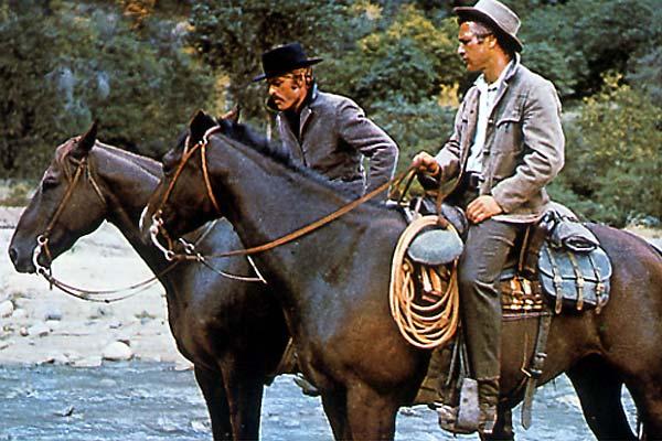 Zwei Banditen - Butch Cassidy and the Sundance Kid : Bild George Roy Hill, Paul Newman, Robert Redford