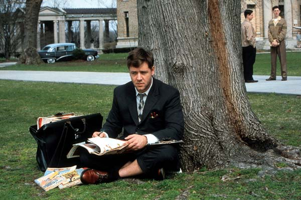 A Beautiful Mind - Genie und Wahnsinn : Bild Ron Howard, Russell Crowe