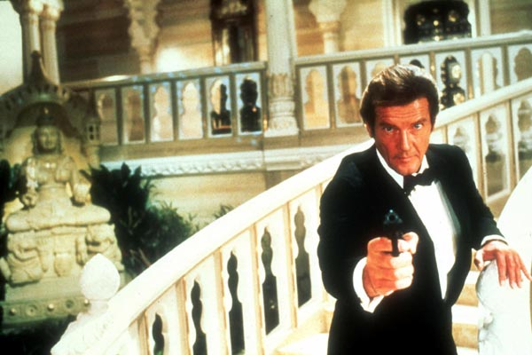 James Bond 007 - Octopussy : Bild John Glen, Roger Moore