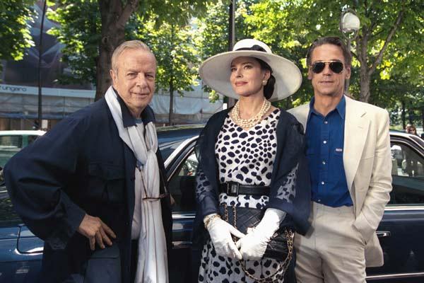 Bild Fanny Ardant, Franco Zeffirelli, Jeremy Irons