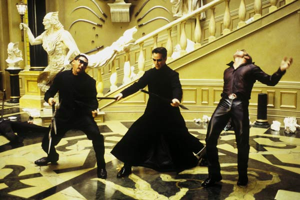 Matrix Reloaded : Bild Keanu Reeves, Ousaun Elam