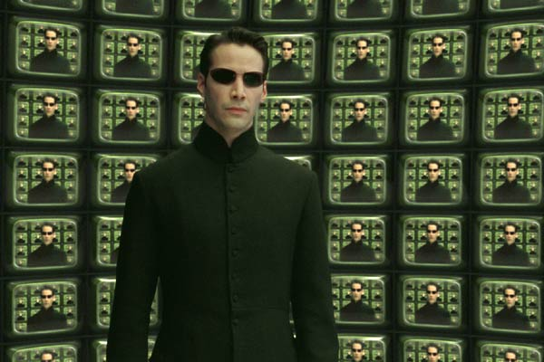 Matrix Reloaded : Bild Keanu Reeves
