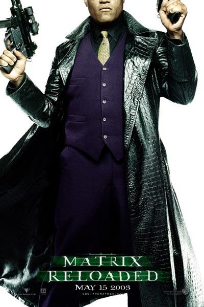 Matrix Reloaded : Bild Laurence Fishburne