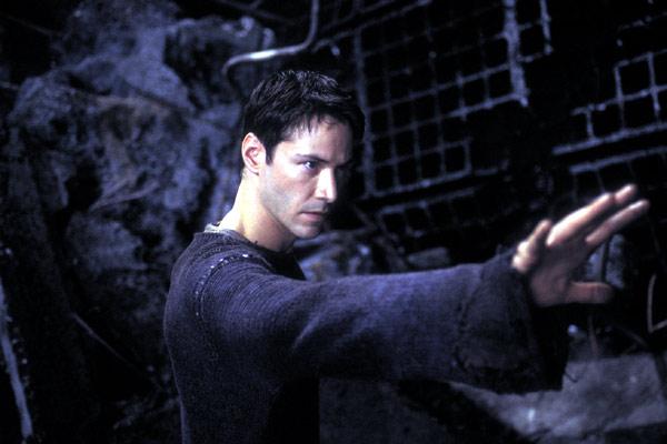 Matrix Reloaded : Bild Keanu Reeves