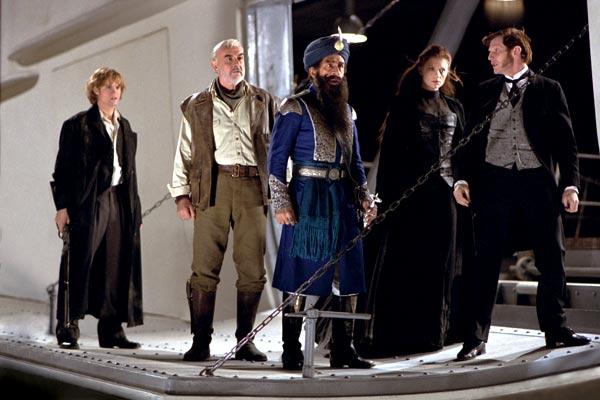 Die Liga der außergewöhnlichen Gentlemen : Bild Jason Flemyng, Naseeruddin Shah, Peta Wilson, Sean Connery, Shane West