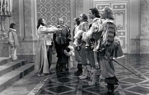 Die drei Musketiere : Bild Frank Morgan, Gene Kelly, George Sidney, Gig Young, Robert Coote