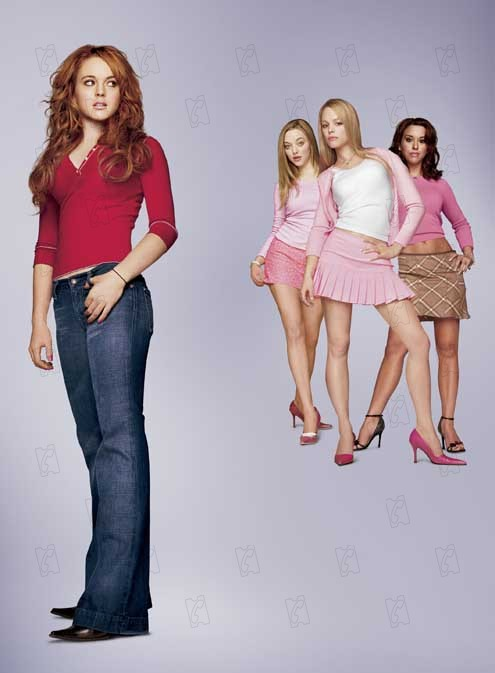 Girls Club : Bild Lindsay Lohan, Mark Waters, Rachel McAdams, Tina Fey