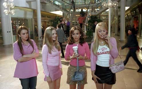 Girls Club : Bild Amanda Seyfried, Lacey Chabert, Lindsay Lohan, Mark Waters, Rachel McAdams