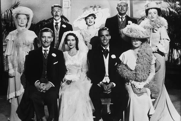 Bild Edna Best, Joseph L. Mankiewicz, Peggy Cummins, Richard Haydn, Ronald Colman
