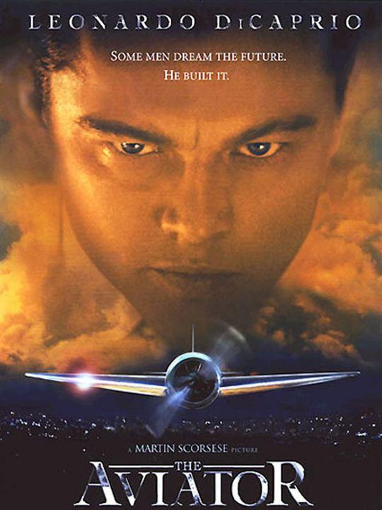 Aviator : Kinoposter Leonardo DiCaprio, Martin Scorsese