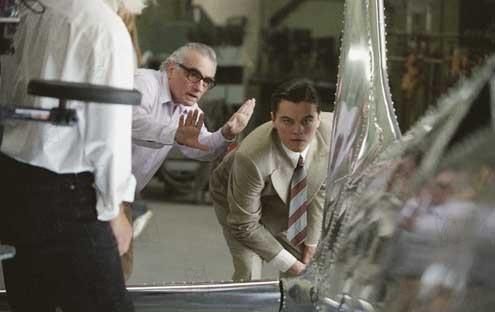 Aviator : Bild Leonardo DiCaprio, Martin Scorsese