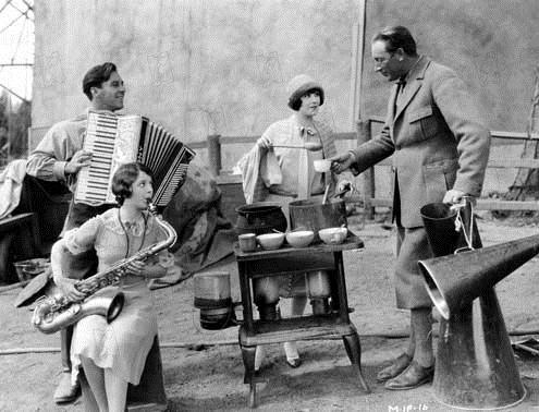 Sonnenaufgang : Bild F. W. Murnau, George O'Brien, Janet Gaynor, Margaret Livingstone