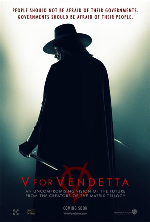 V wie Vendetta : Kinoposter