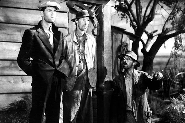 Früchte des Zorns : Bild Henry Fonda, John Carradine, John Ford, John Qualen