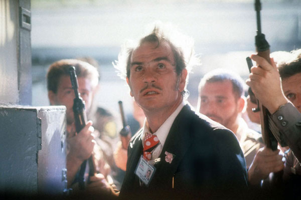 Natural Born Killers : Bild Oliver Stone, Tommy Lee Jones, Woody Harrelson