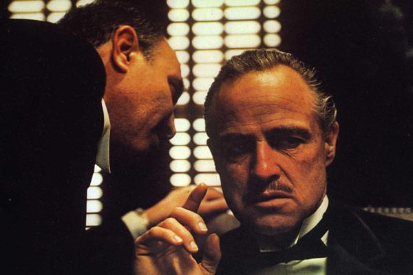 Der Pate : Bild Francis Ford Coppola, Marlon Brando