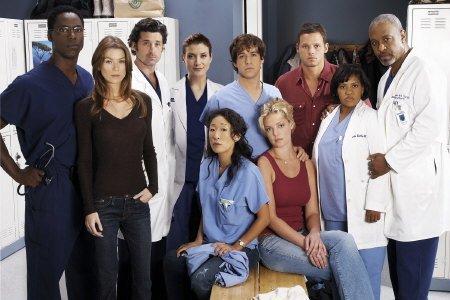 Grey's Anatomy - Die jungen Ärzte : Bild Chandra Wilson, Ellen Pompeo, Isaiah Washington, James Pickens Jr., Justin Chambers (I)