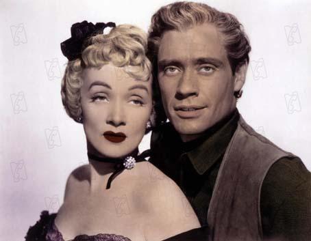 Engel der Gejagten : Bild Marlene Dietrich, Mel Ferrer