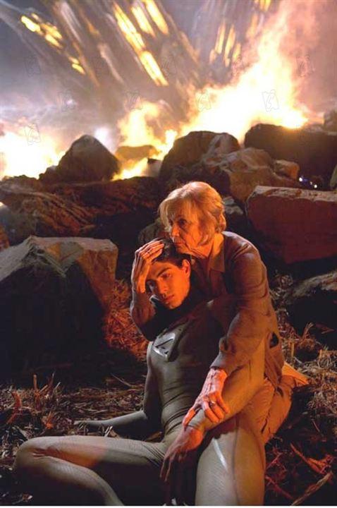 Superman Returns: Brandon Routh, Eva Marie Saint