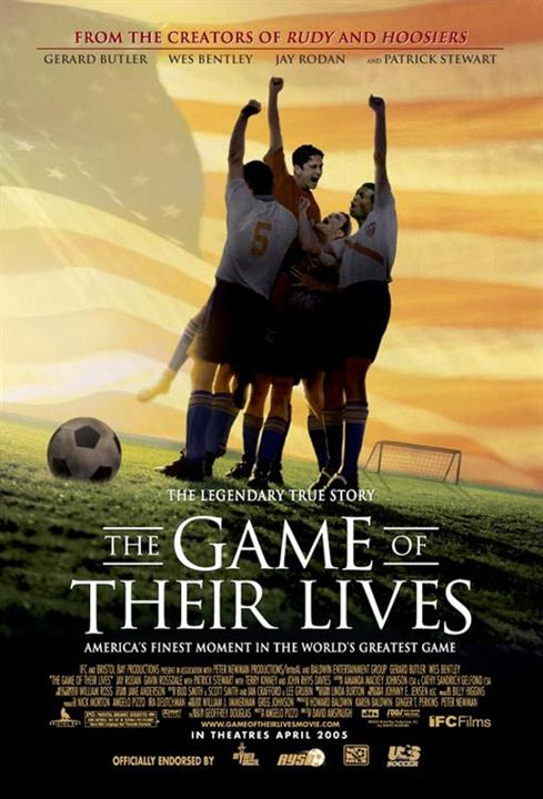 The Game Of Their Lives : Kinoposter David Anspaugh