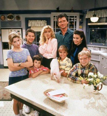 Eine starke Familie : Bild Angela Watson, Brandon Call, Christine Lakin, Christopher Castile, Patrick Duffy