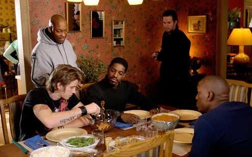 Vier Brüder : Bild André Benjamin, Garrett Hedlund, John Singleton, Mark Wahlberg, Tyrese Gibson