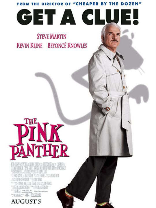 Der rosarote Panther : Kinoposter Steve Martin
