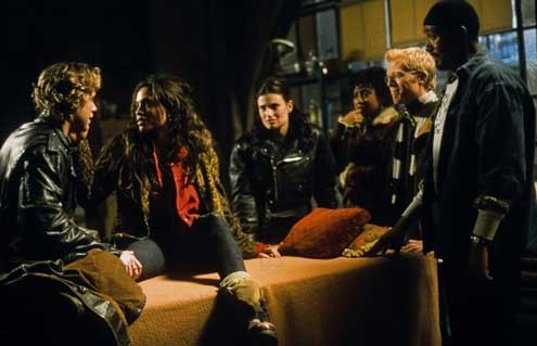Rent : Bild Anthony Rapp, Jesse L. Martin, Rosario Dawson, Tracie Thoms